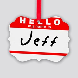 Jeff Picture Ornament