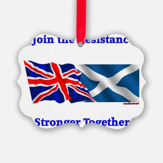 Join the Resistance Stronger Toge Ornament