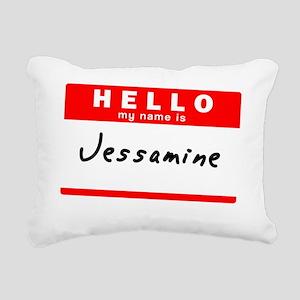 Jessamine Rectangular Canvas Pillow