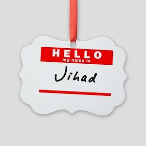 Jihad Picture Ornament