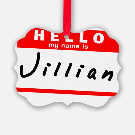 Jillian Ornament