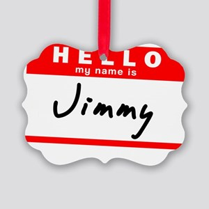 Jimmy Picture Ornament