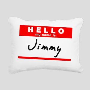 Jimmy Rectangular Canvas Pillow