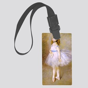 renoir dancer Large Luggage Tag