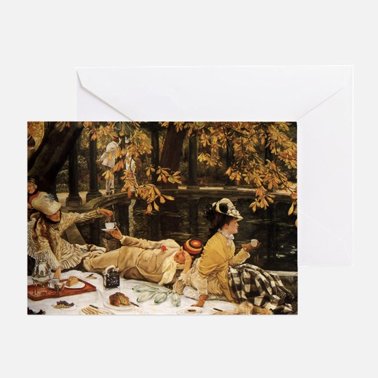 Tissots Picnic Greeting Card