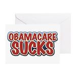 Obamacare Sucks Greeting Cards