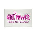 Girl in Power Rectangle Magnet (100 pack)