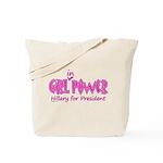 Girl in Power Tote Bag