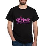 Girl in Power Dark T-Shirt