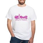 Girl in Power White T-Shirt