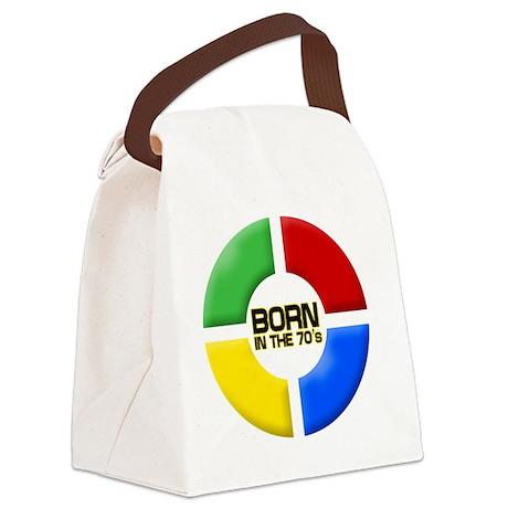 BornIn70s Canvas Lunch Bag