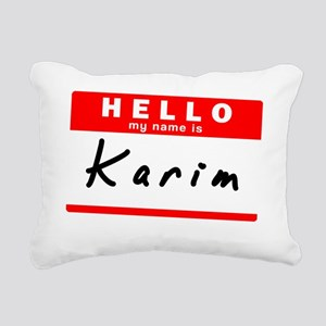 Karim Rectangular Canvas Pillow