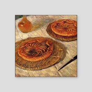 "monet the galettes Square Sticker 3"" x 3"""