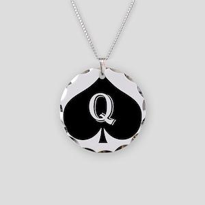 qos Necklace Circle Charm
