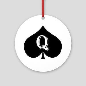 qos Round Ornament