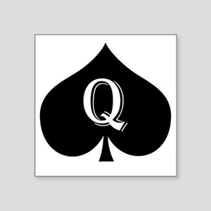 "qos Square Sticker 3"" x 3"""