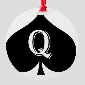 qos_pnt Round Ornament