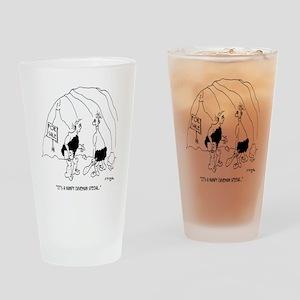 6127_real_estate_cartoon Drinking Glass