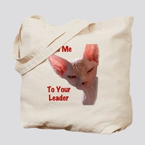 Nikita Take me to your leader Cut out Tote Bag
