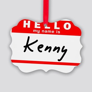 Kenny Picture Ornament