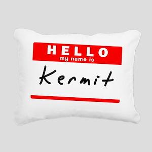 Kermit Rectangular Canvas Pillow