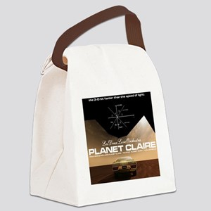 planetclaireT Canvas Lunch Bag