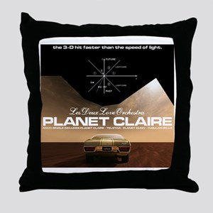 planetclaireT Throw Pillow