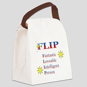 flip2000x1762_flat Canvas Lunch Bag