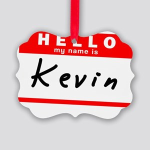 Kevin Picture Ornament