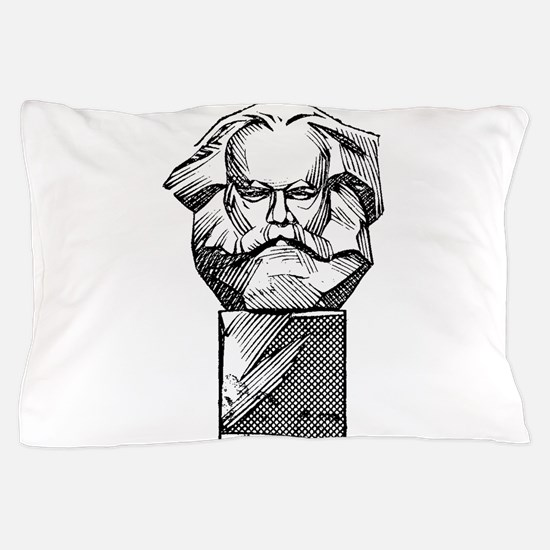 Karl Marx Pillow Case