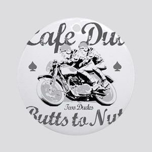 butts to nuts Round Ornament