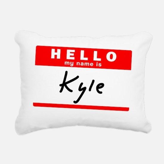 Kyle Rectangular Canvas Pillow