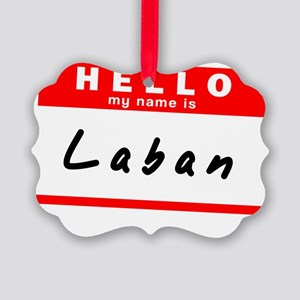 Laban Picture Ornament