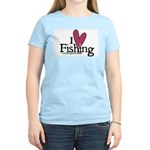 I Love Fishing Women's Light T-Shirt