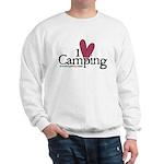I love Camping Sweatshirt