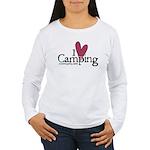 I love Camping Women's Long Sleeve T-Shirt
