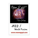 "Jazz / World Fusion 11""x17"" Mini Poster Print"