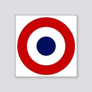 "2000px-French-roundel Square Sticker 3"" x 3"""