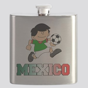 Mexican Soccer Football Flask