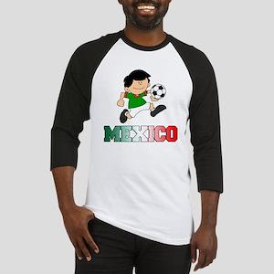 Mexican Soccer Football Baseball Jersey