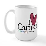 I love Camping Large Mug