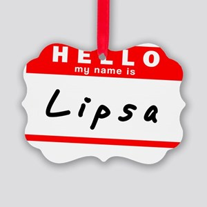 Lipsa Picture Ornament