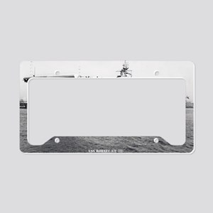 hornet cv large framed print License Plate Holder