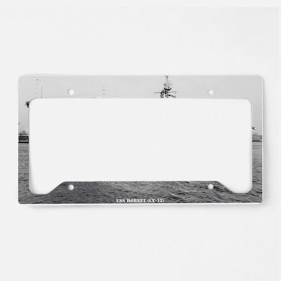 hornet cv large framed print License Plate Holder