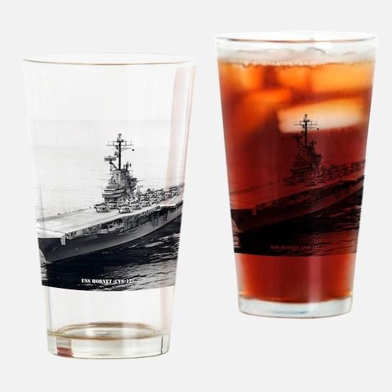 hornet cvs framed panel print Drinking Glass