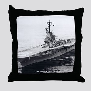 hornet cvs framed panel print Throw Pillow