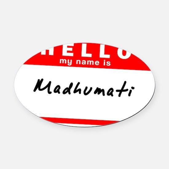 Madhumati Oval Car Magnet