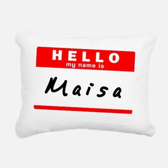 Maisa Rectangular Canvas Pillow