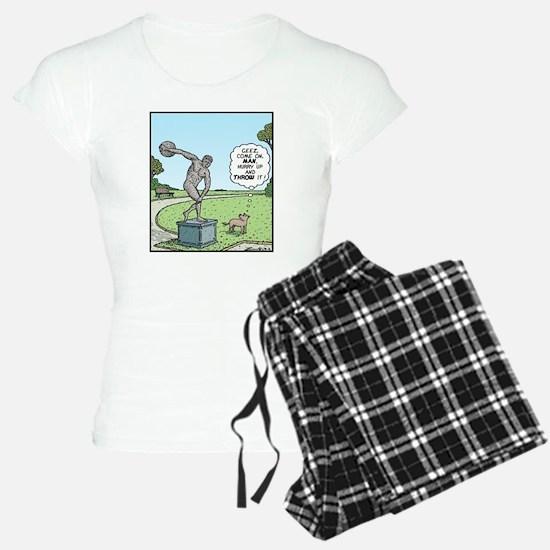 Dog Discus thrower Pajamas