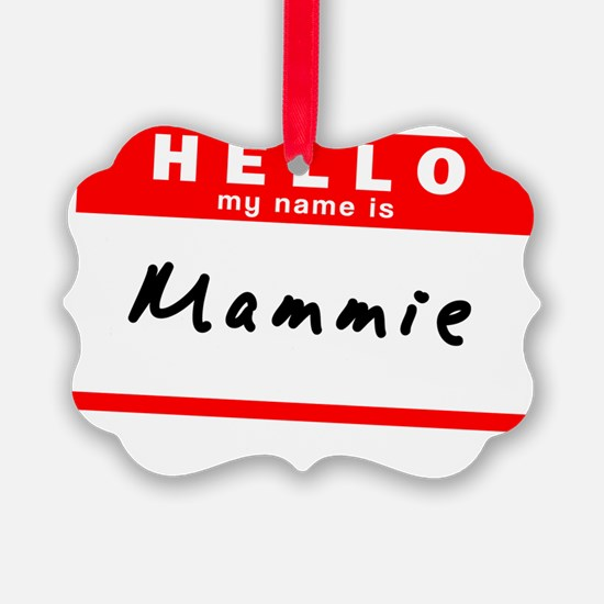 Mammie Ornament